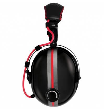 ARCTIC P533 Racing Stereofonico Padiglione auricolare Nero, Rosso cuffia e auricolare