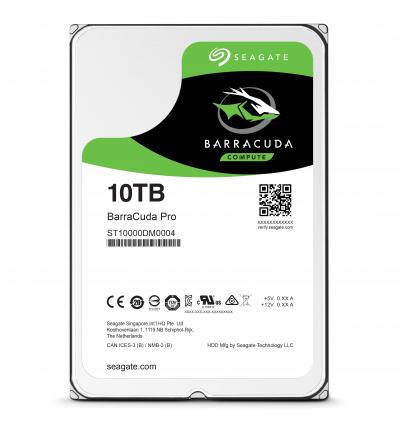 "Seagate Barracuda Pro 10TB 3.5"" SATA III 10000GB Serial ATA III"