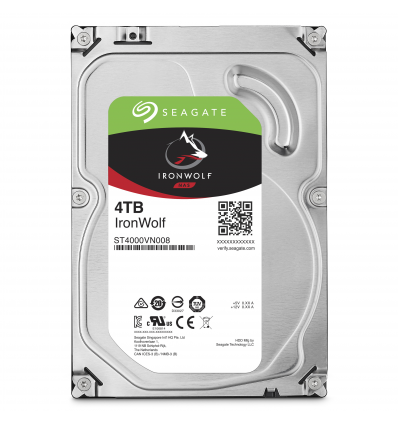 Seagate NAS HDD IronWolf 4TB 4000GB Serial ATA III