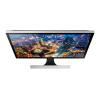 "Samsung U28E590D 28"" 4K Ultra HD TN Nero, Argento"