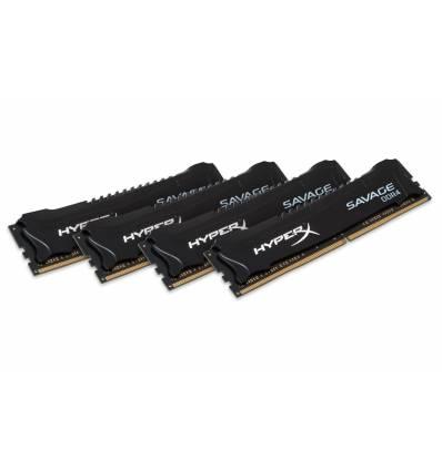 HyperX Savage Memory Black 16GB DDR4 2133MHz Kit 16GB DDR4 2133MHz memoria