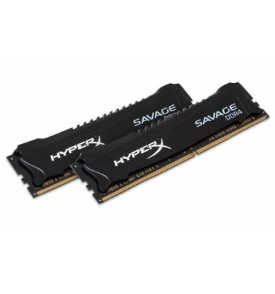 HyperX Savage Memory Black 16GB DDR4 2666MHz Kit 16GB DDR4 2666MHz memoria