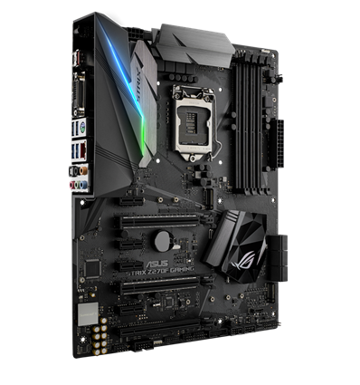 Scheda Madre ASUS Z270F GAMING STRIX Socket 1151 Z270 DDR4 VGA HDMI DVI DP USB3 ATX