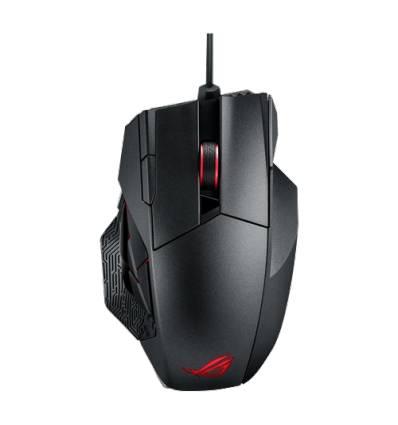 ASUS 90MP00A1-B0UA00 RF Wireless+USB Laser 8200DPI Nero Mano destra mouse